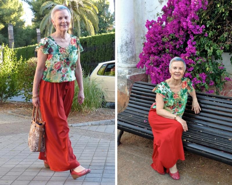virgenes solteras mayores canas kilos estilo moda
