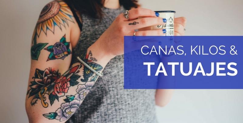 tatuajes canas kilos estilo moda mayores de 50