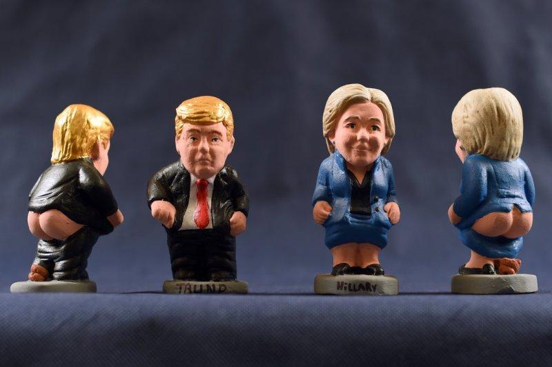 SPAIN-US-VOTE-CLINTON-TRUMP-CAGANER